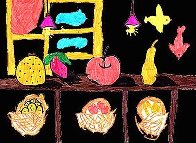 三年级画展-三年级画展男生,二年级画画简单又漂亮,三