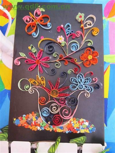 儿童创意美术手工画